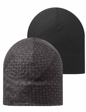 8e185bf4af5 Microfiber Reversible Hat Buff® - Tanju Graphite   Black Graphite - BUFF® Original  Multifunctional Headwear - Buy Buff® Online